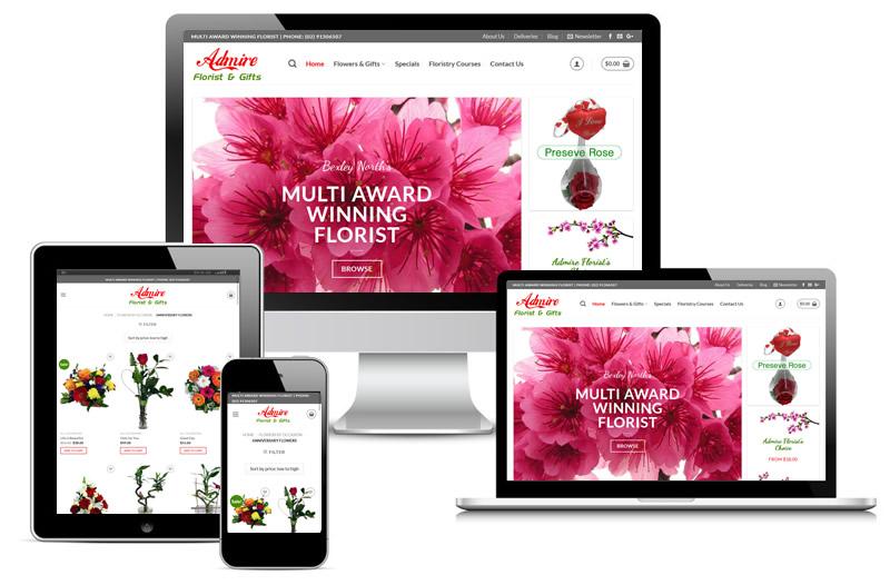 admire florist p