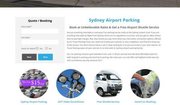 Air Travel Parking