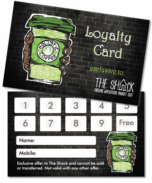 Holistic Coffee Loyalty Card