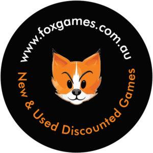 fox games sticker round