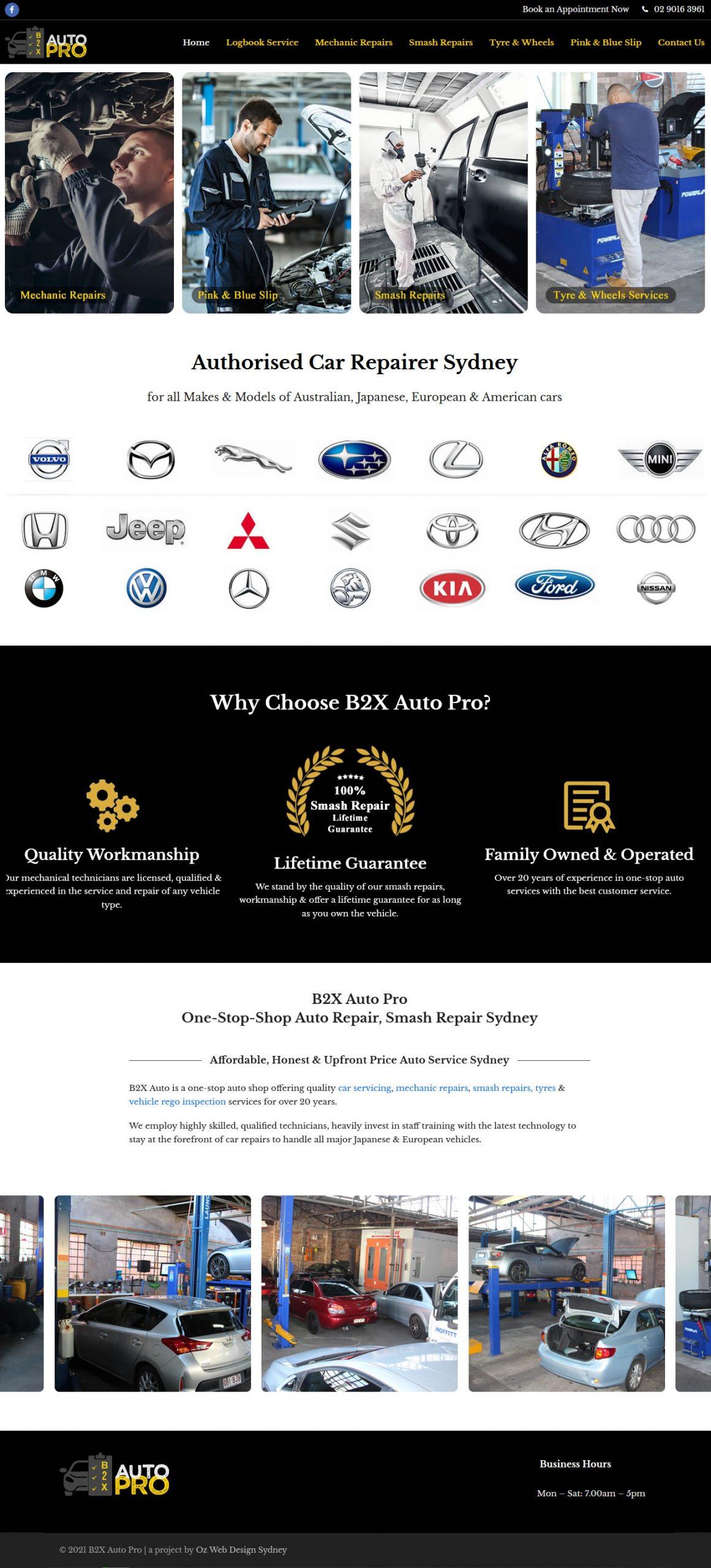 b2x auto mechanic repairs